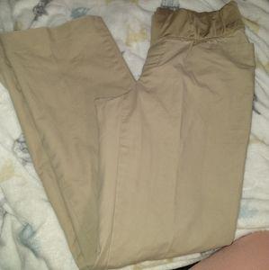 Gap maternity pants size 10